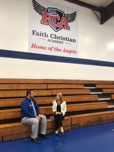 photo of Faith Christian Academy principal and Starting Point therapist