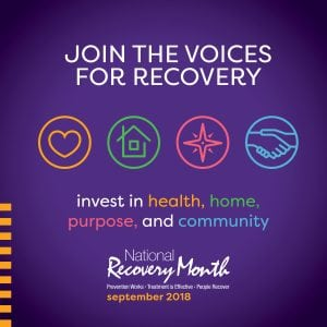 recovery month logo for 2018