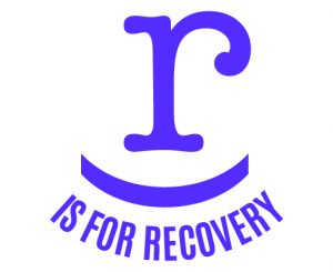 r is for recovery graphic