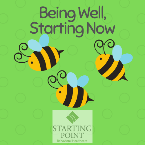 being well starting now logo