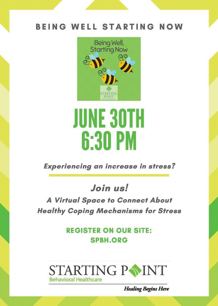 June Being Well info flyer