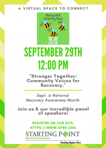 flyer for sept. 29 being well event