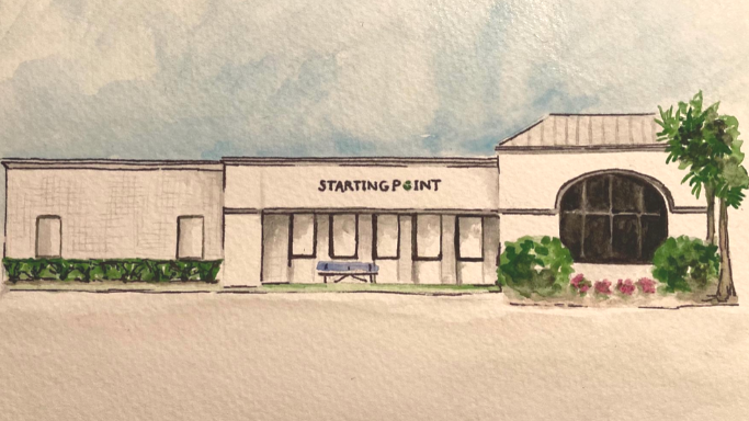 Painting of Starting Point Behavioral Healthcare