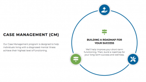 Case Management Definition and Wheel describing what it provides