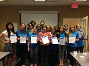 MHFA graduation NEFL Healthy Start Coalition